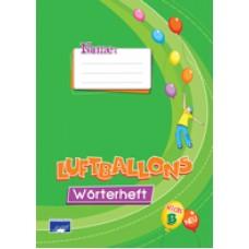 Wörterheft - Luftballons Kids Β