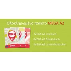 ΠΑΚΕΤΟ MEGA A2 (Lehrbuch, Arbeitsbuch, Lernzielkontrollen)