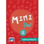 Mini DaF 1 - Wörterheft