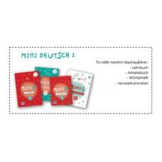 Ολοκληρωμένο πακέτο MINI Deutsch 1 (Lehrbuch, Arbeitsbuch, Wörterheft, Lernzielkontrollen, Interaktiv online)